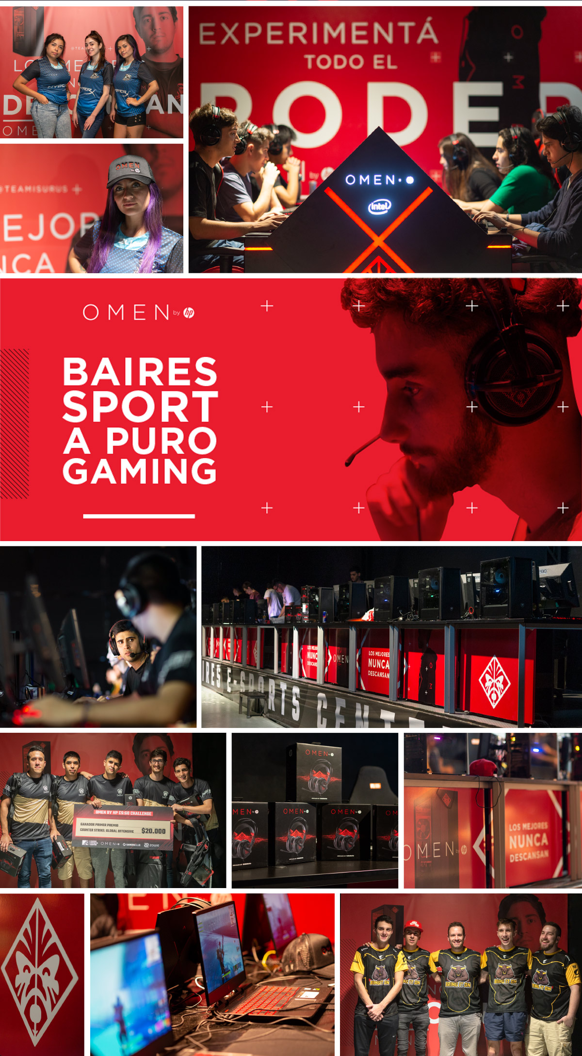 OMEN by HP at Baires e-Sports Center