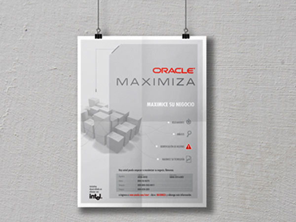 oracle diseño brochure