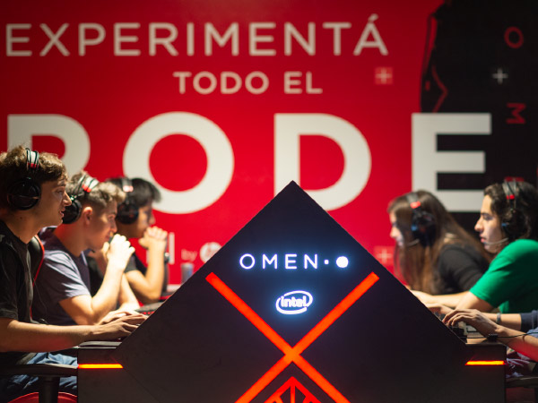 Activación Omen by HP en Baires Esports Center